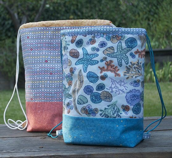Drawstring Backpacks By Terri Carpenter