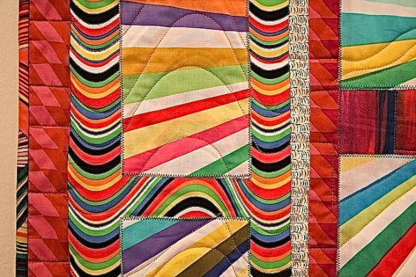 Sun Shine by Sharona Fischrup, quilted by New Pieces Quilt Shop