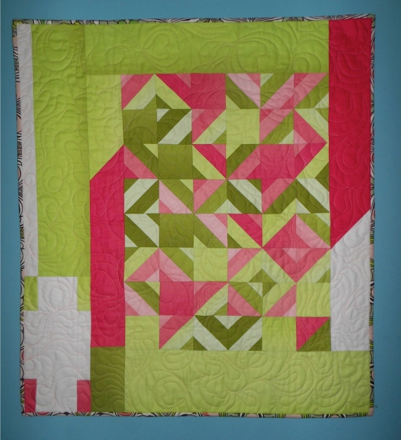 Quilt by Karen Foster, Capitola Quilter