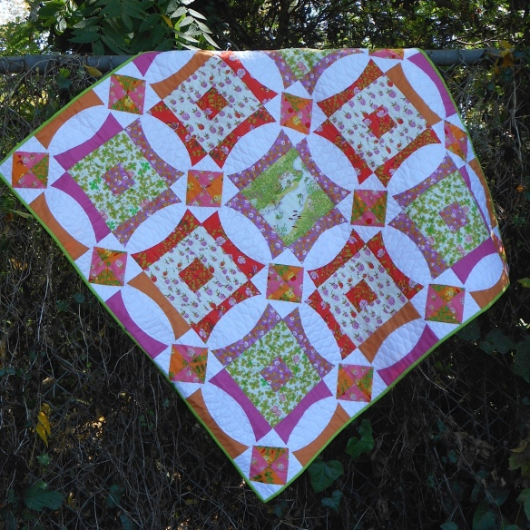 Ring Around The Briar Roses by Karen Foster, Capitola Quilter