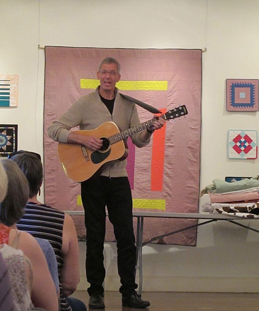 Joe Cunningham at Stitch Modern 2015