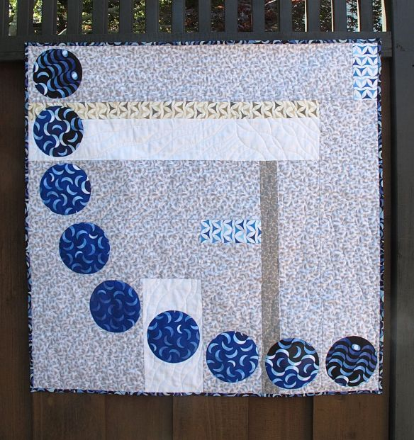 Planetarius by Terri Carpenter using Luna Lounge fabric by Carol Van Zandt