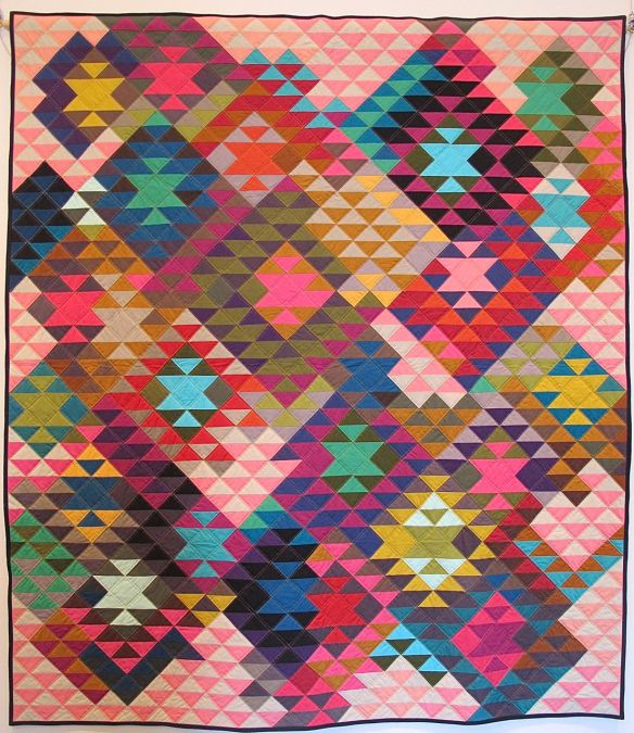Half-Square Triangles by Tara Faughnan