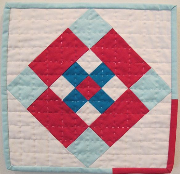 Mini Amish Quilt Challenge by Margaret Glendenning