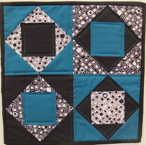 Mini Amish Quilt Challenge by Chancy Fessler