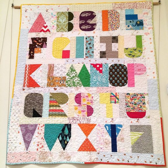 I Spy the Alphabet by Terri Carpenter of thequiltedfox.com