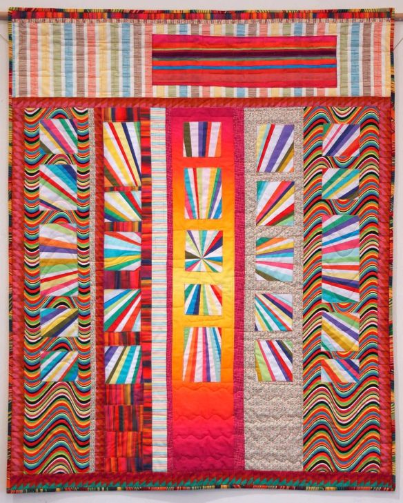Sun Shine by Sharona Fischrup, quilted by New Pieces Quilt Shop Sun Shine by Sharona Fischrup, quilted by New Pieces Quilt Shop