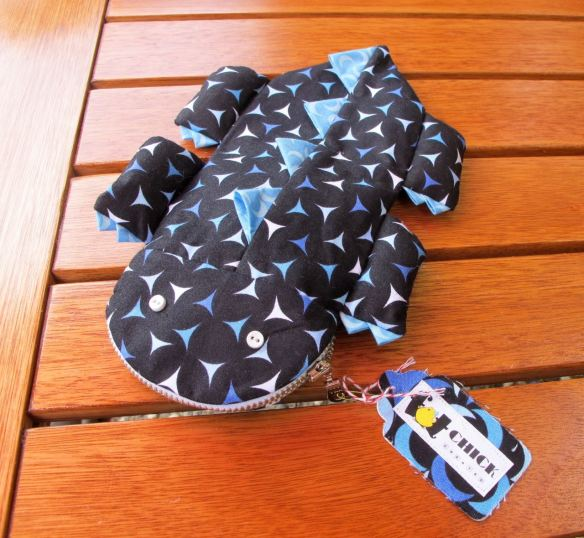 Monster Pencil Bag by Fat Chick Quilts