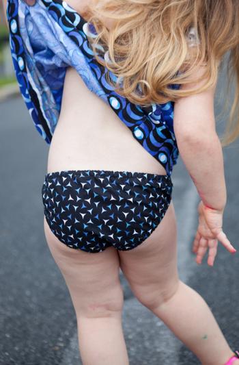Happy Bikini and Puperita Coverup by Puperita Patterns
