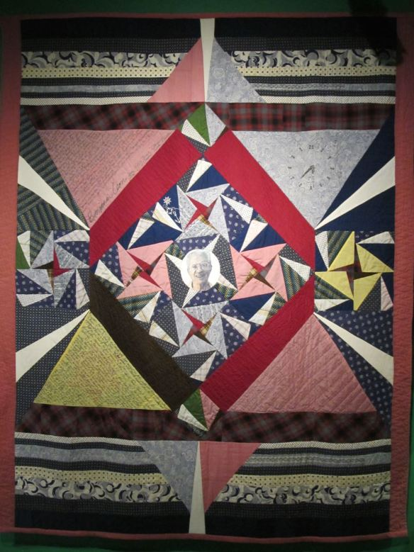 Benjamin Leon Commemorative Quilt. Eli Leon, designer and piecer, Esther Foss, piecer, Helen Brodfield, quilter. Collection of Eli Leon.