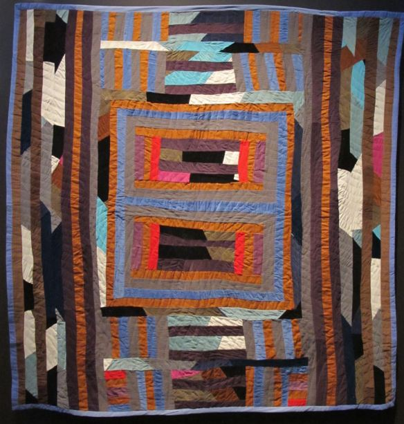 Double Medallion, Sherry Byrd, piecer, Irene Bankhead, quilter. Collection of Eli Leon