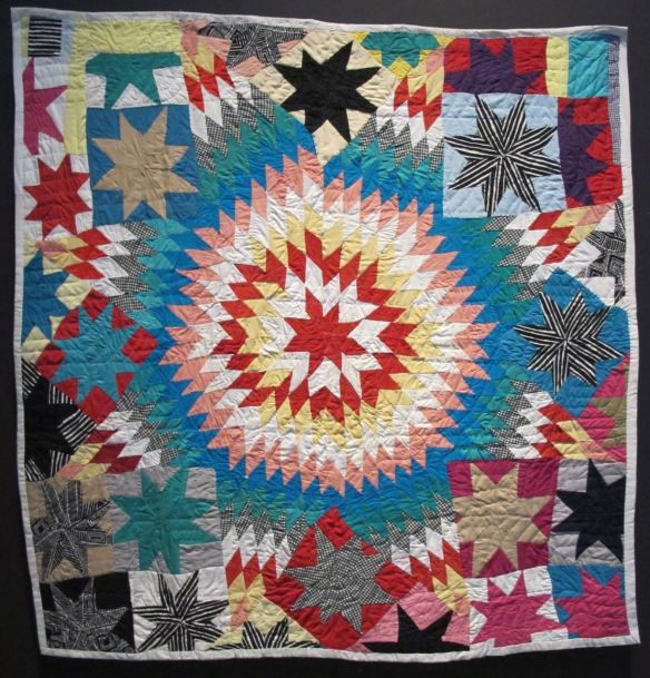Texas Star. Mattie Pickett, piecer, Willia Ette Graham, quilter. Collection of Eli Leon.