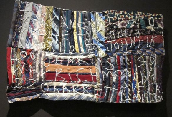 Wall Piece, pieced by Rosie Lee Timpkins, quilted by Irene Bankhead. Colleciton of Eli Leon