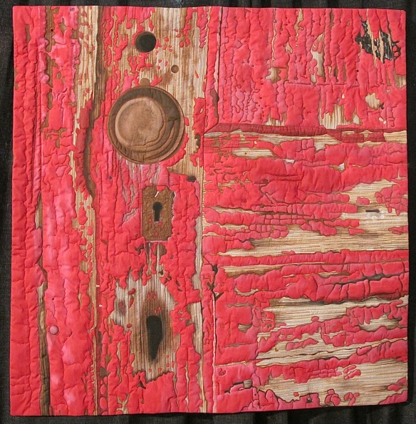 Old Red Door by Susan Brubaker Knapp