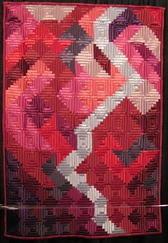 Geteiltes Rot-Divided red by Brigitte Morgenroth