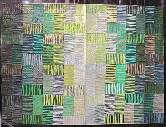 SW 5, Big Green Diptych by Norma Schlager