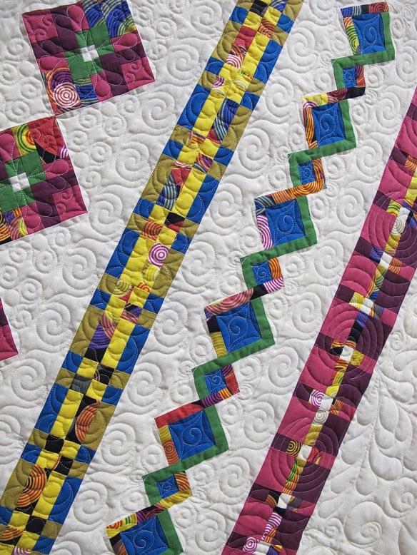Links of Color by Margrit Schwanck