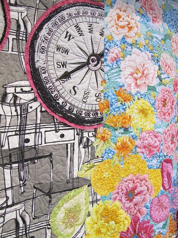 Crazy Time (The Clocks Quilt) by Alethea Ballard