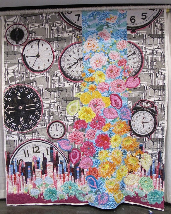 Crazy Time (The Clocks Quilt) by Alethea Ballard