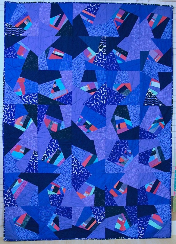 For Alejandro by Carol Van Zandt, quilted by Terri Carpenter of Hello Stitch