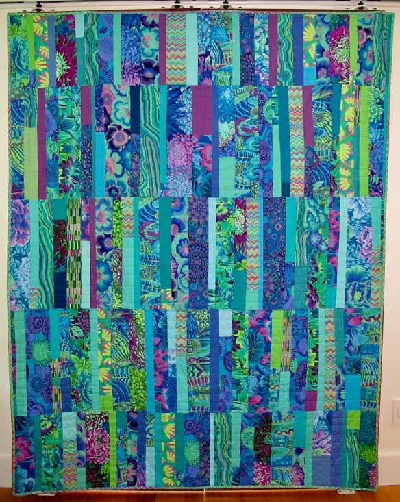 For Connie by Carol Van Zandt, quilted by Terri Carpenter of Hello Stitch
