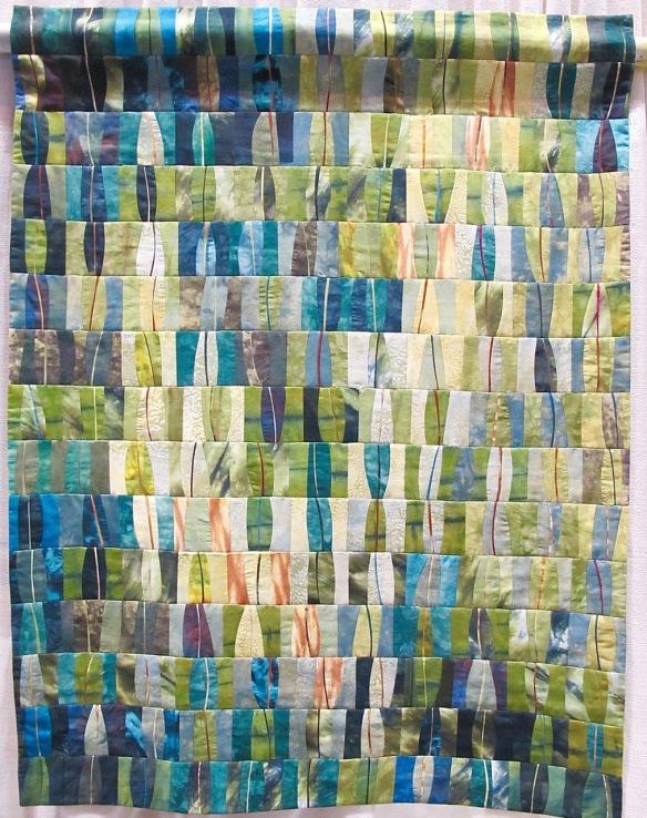Greens in My Garden by Joan Dyer