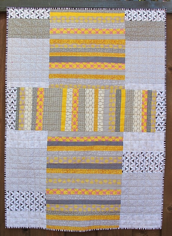 For McKenna by Carol Van Zandt, quilted by Terri Carpenter of thequiltedfox.com
