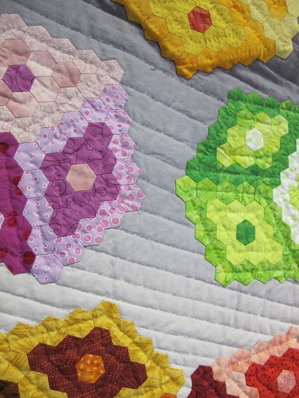 Tumbling Hexagons by Anabeth Dollins