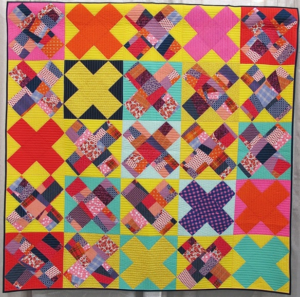 A Kiss For Paul by Tricia Royal, quilted by Frank Palmer