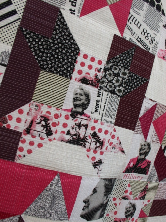 Hillary Quiltcon by Diana Vandeyar