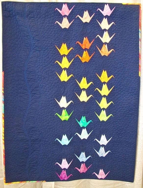 Paper Cranes by Sylvia Schaefer