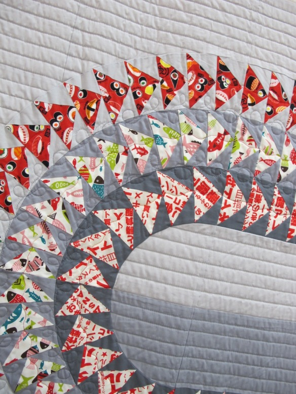 Release the Geese II by Sarah Bond, quilted by Carol Heisler Norriton