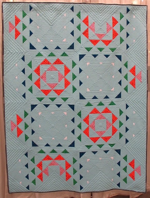 The Ripple Effect by Janice Ryan, quilted by Kristi Ryan