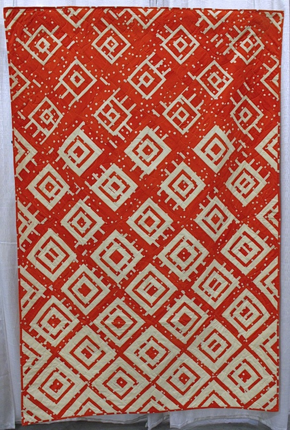 Wildfire by Kristy Cleverly, quilted by Kelly Elliott