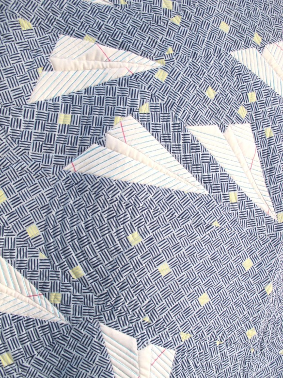 Aerodynamics by Heather Givens, quilted by Karen McTavish