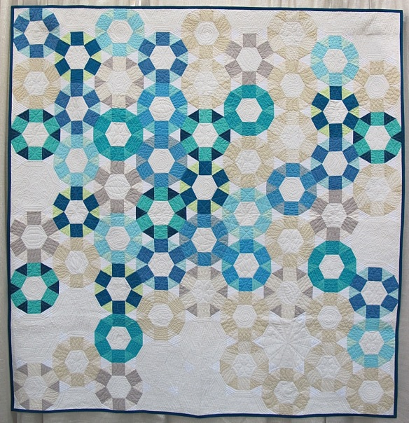 Cog by Emily Cier, quilted by Angela Walters