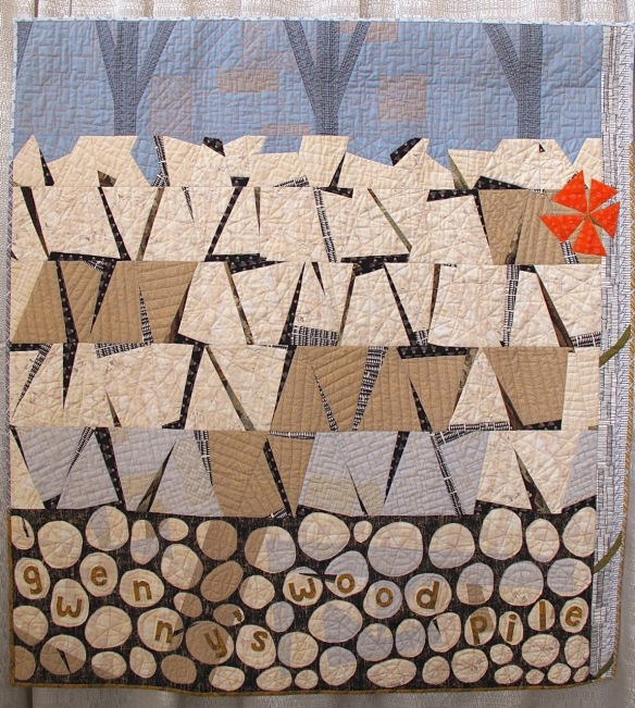 Gwenny's Woodpile by Karen Duling