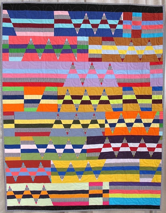I've Got Your Back by Cindy Wiens, quilted by Darby Myers