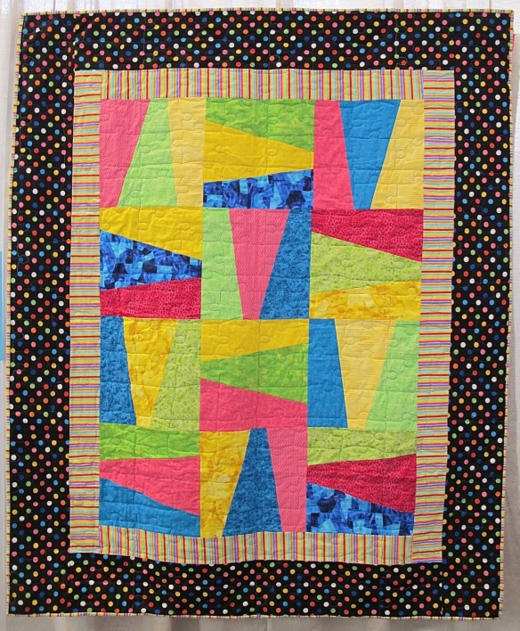 Piece by Taylor Mesmer, quilted by Jessica Goodman