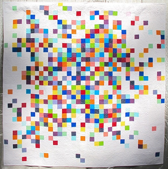 What Ellsworth Kelly Taught Me About Quilting by Maritza Soto, quilted by Melissa Averinos