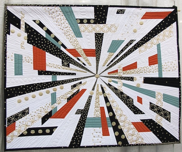 Another Time, Another Place by Natalie McCrory, quilted by Sonja Koch of SoSews Quilts