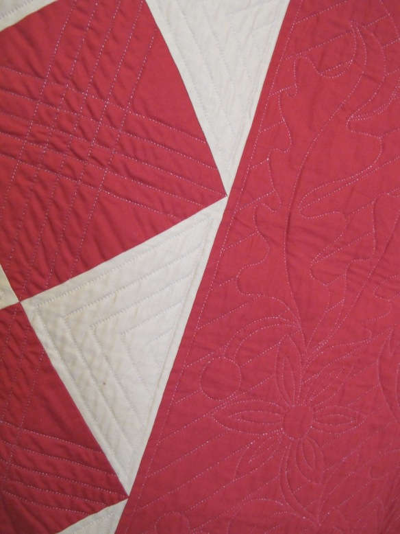 Cut-Out Corners with Square Within a Square Border by Gwen Marston
