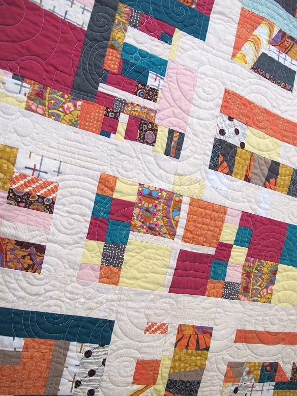Pathways by Janet Schoenfeld and the Baltimore Modern Quilt Guild