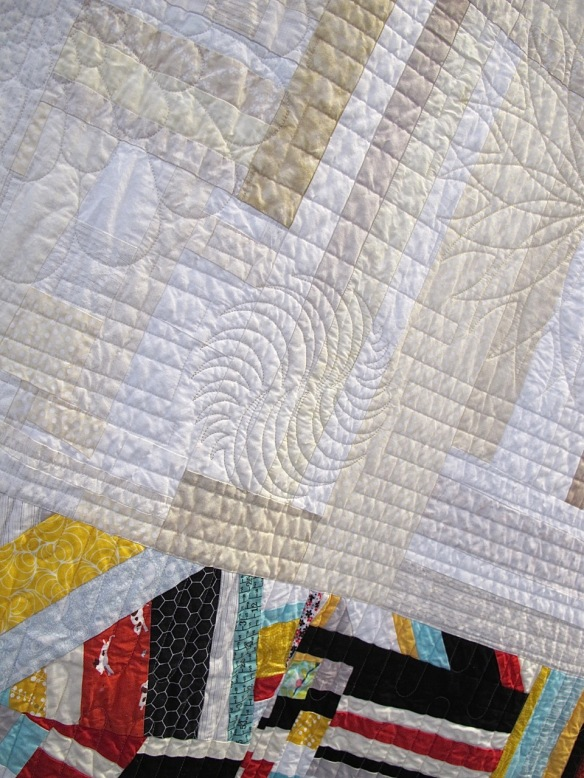 Piece Offering by Dionne Matthies-Buban and members of the Seattle Modern Quilt Guild