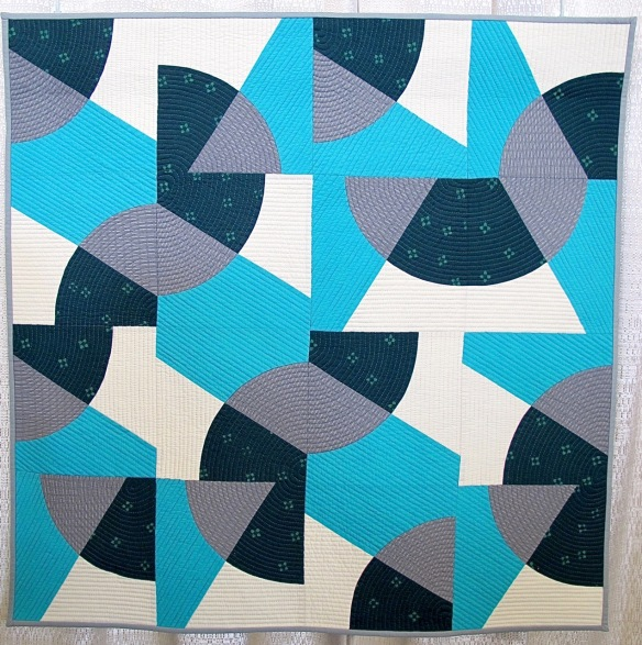 Sinuous by Valerie Shields, block by Karen Cunagin
