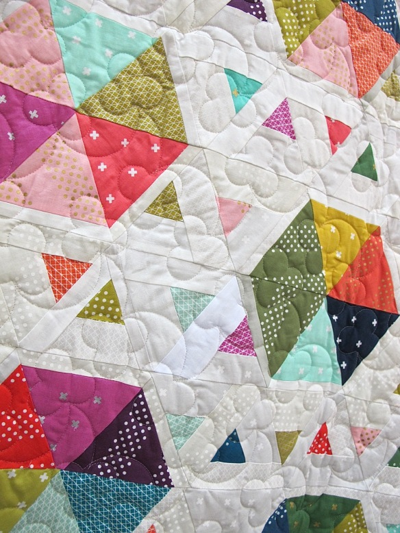 Swarm by Selina Cheng, quilted by Jo Nicholls of Thirroul Custom Quilting