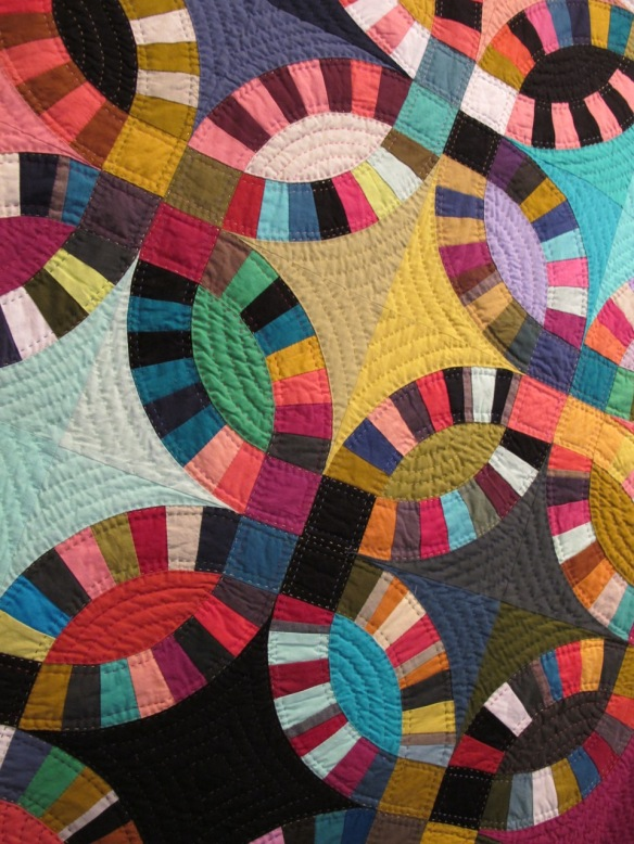 Double Wedding Ring Quilt by Tara Faughnan