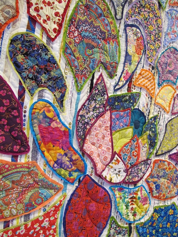 Give Me Liberty by Pati Fried, quilted by Kerry Reed