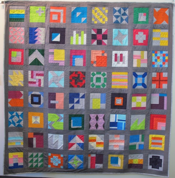 Sampler Quilt I by Kristen Takakuwa