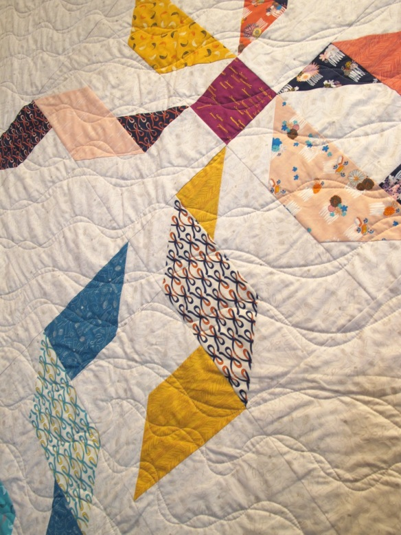 Twice Tied by Kim Andersson, Quilted by Terri Carpenter